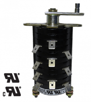 Auxiliary Switch with quick connect or screw terminals for Power Industry