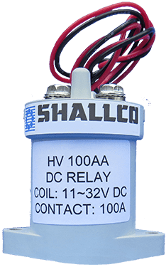 High Voltage Relay - 100 Amps