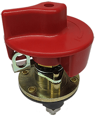 Lockable Battery Disconnect Switch